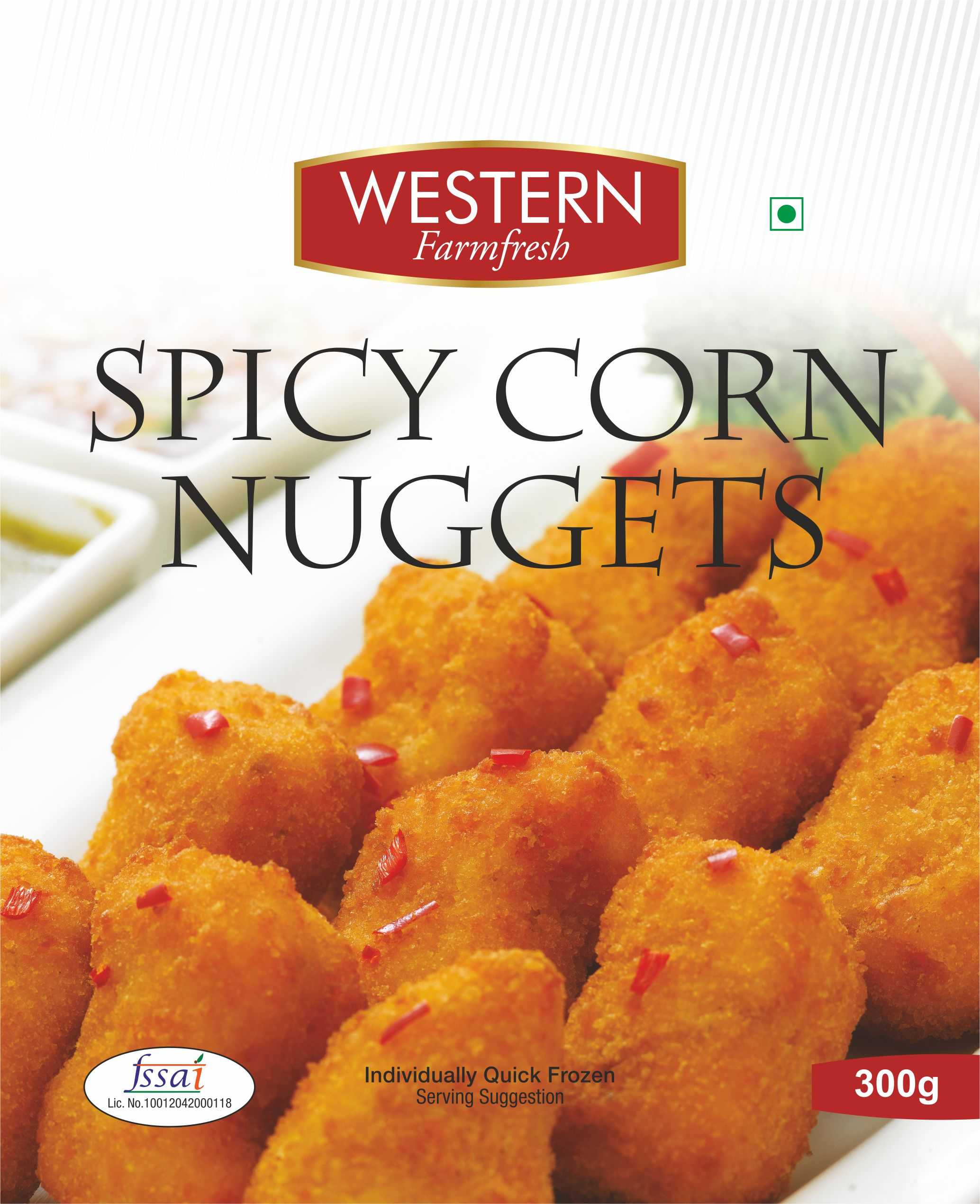 Spicy Corn Nuggets