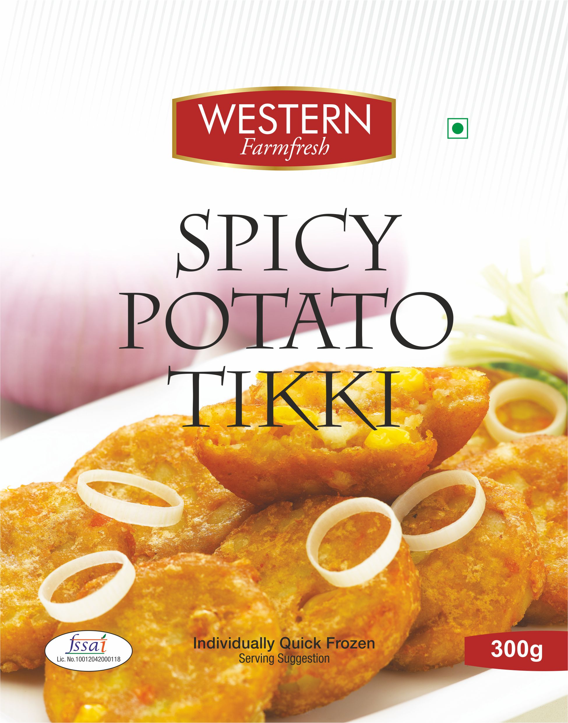 Spicy Potato Tikki